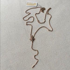 Michael Kors Starburst Pavé Necklace